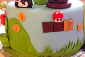 Gâteau Mario - Details